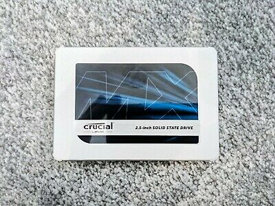 Crucial CT1000MX500SSD1 MX500 1TB SATA III 2.5  Internal SSD Excellent Condition • 40£