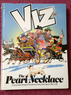 The Pearl Necklace Viz Hardback Book INCLUDES FREE MYSTERY GIFT!! • 2.99£