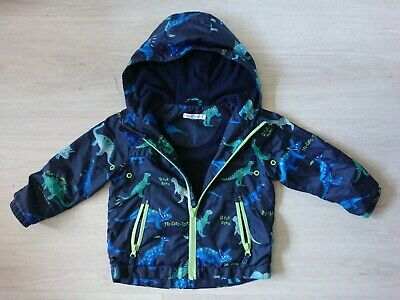 Boys Lightweight Jacket Mac Dinosaur Print Spring Age 3-4 Yrs Bluezoo  • 4.99£