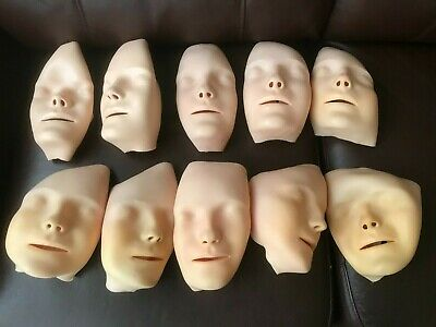 Laerdal Little Anne Faces X 10 - Old, Some Unused • 10£