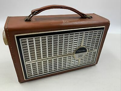 $ CDN25.36 • Buy SILVERTONE 800 Ultra Power - Transistor Radio - Model 222A - Leather Case