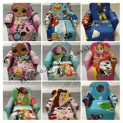 £30.99 • Buy Kids Children's Chair Armchair Baby Sofa Seat Fabric Upholstered Playroom