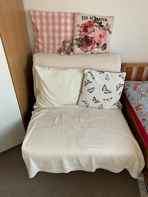 Lycksele Ikea : Single Folding Sofa Bed Chair (frame Only) Excellent Condition • 35£