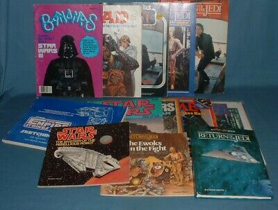 $ CDN15.08 • Buy Vintage Star Wars Books, Magazines, & More Lot - 1970's / 80's - Used
