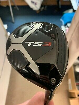 $ CDN227.62 • Buy Titleist Ts3 15 Degree Right Hand Regular Shaft 3 Wood