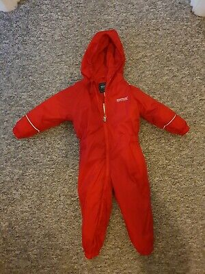 Regatta Splashsuit, Puddle Suit, Toddler 12-18 Months • 20£
