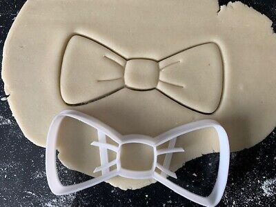 £3.75 • Buy Cookie Cutter Dickie Bow Cookie Cutters, Biscuit, Pastry,Fondant Cutter