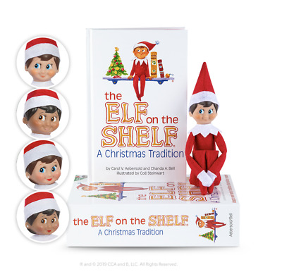 £12 • Buy Official Elf On The Shelf® A Christmas Tradition ELF & BOOK **DAMAGED BOX ONLY *