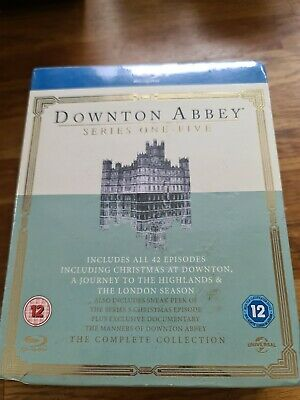 Downton Abbey - Series 1-5 [Blu-ray] Brand New & Sealed  • 10£
