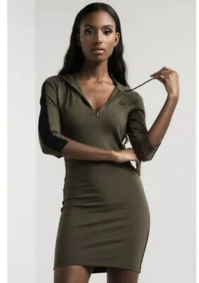 $ CDN45.66 • Buy Puma Hoodie Dress Olive Night Green/Black 573536-14 Women's Large L $65 NEW NWT