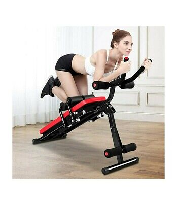 Ab Exercise Bench, Abdominal Workout Machine Foldable Sit Up Bench, Full Body... • 119.99£