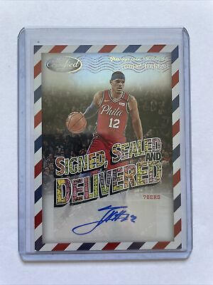 AU10.50 • Buy Panini Certified Tobias Harris Signed Sealed And Delivered Auto 76ers