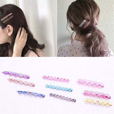 $ CDN4.51 • Buy 10Pcs Long Hair Clips Bobby Pins For Women Girls Hair Accessories Flat Hairpin