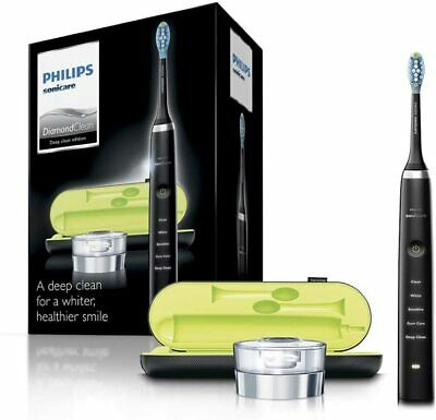AU149.68 • Buy Philips Diamond Clean Sonic Electric Toothbrush 2019 Edition Black Sealed Boxed
