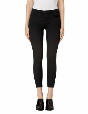 $102.40 • Buy J Brand Womens Alana JB000983 Cropped Jeans Seriously Black 26W