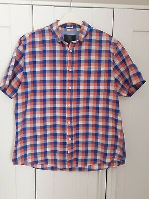 Mens Immaculate Atlantic Bay Casual Shirt Size L • 4£