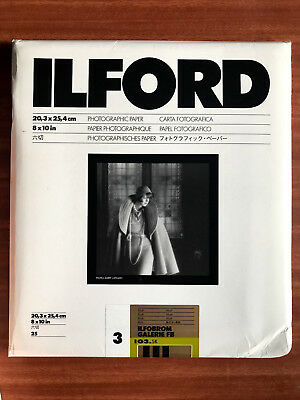Ilford ILFOBROM Galerie FB 3 IG3 5K MATT 8x10 In 25 Sheets • 405£
