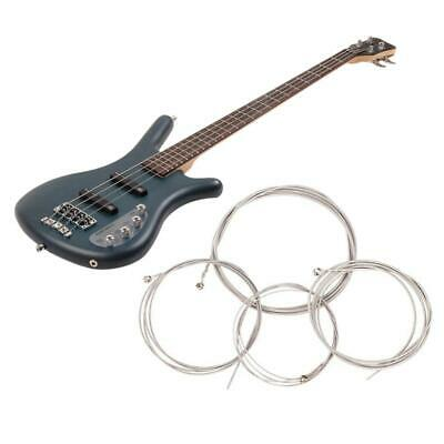 $ CDN9.36 • Buy Electric Bass Strings Set 4 String Stainless Steel Guitar Strings