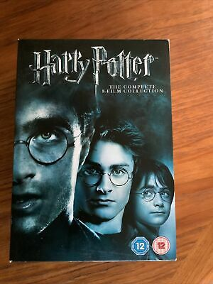 $ CDN13.15 • Buy Harry Potter Complete 8 Film Collection.  Years 1-7 DVD Box Set. Like New.