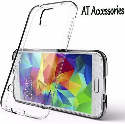 $ CDN5.27 • Buy Clear Transparent Phone Case For Samsung S3 S3Mini S4 S5 Note-3 TPU Gel Cover