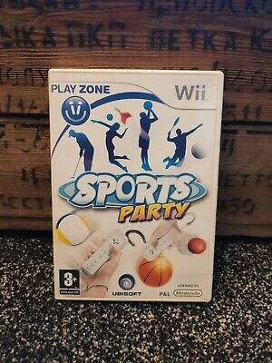 Sports Party - Nintendo Wii Game • 1.99£