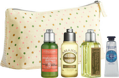 L'Occitane Pouch Gift Set 5 Items Brand New Sealed • 13.50£