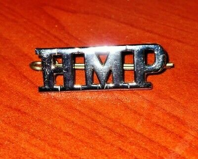 HMP Her Majesty's Prison Service Shoulder Title Badge 38mm MINT CONDITION 🇬🇧 • 7£