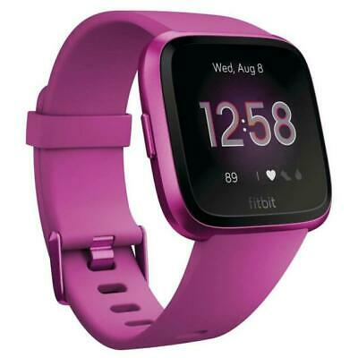 $ CDN158.59 • Buy Fitbit Versa Lite FB415PMPM Fitness Smartwatch - Mulberry