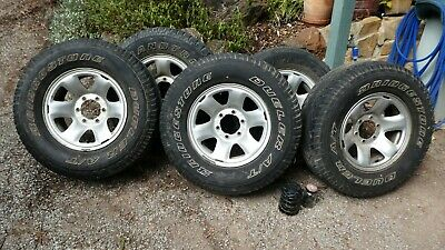 AU300 • Buy Five Toyota Wheels And Tyres Prado Landcruiser 26570R16  With Hub Caps And Nuts