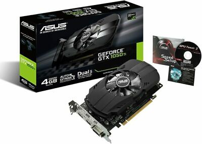 $ CDN333.14 • Buy Asus GeForce GTX 1050 Ti 4GB Phoenix Fan Edition PH-GTX1050TI-4G Graphic Card