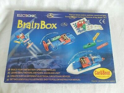£14.99 • Buy Cambridge Brainbox Car & Boat Electronics Kit Set Working