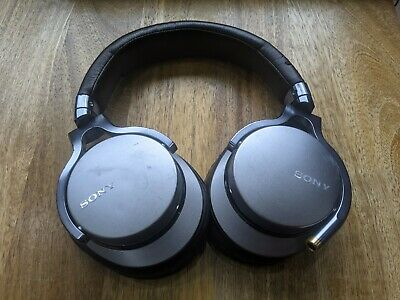 Sony MDR-1A Over-Ear Headphones With Cable - Silver + Brown • 90£