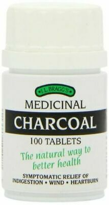 £11 • Buy Bragg's Charcoal - 100 Tablets