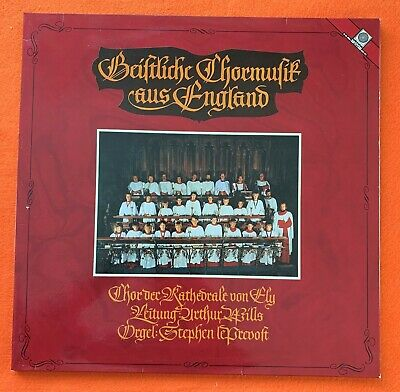 £3.50 • Buy English Church Music- Choir Of Ely Cathedral- Motette Records LP 1981