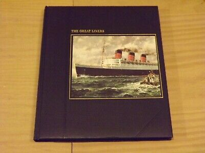 The Seafarers THE GREAT LINERS (Time-Life Books - Melvin Maddocks) • 17.99£