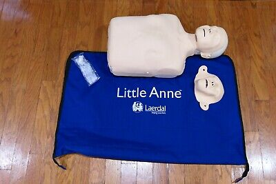 Laerdal Little Anne White Caucasian Emt Cpr Adult Manikin Trainer First Aid • 36.18£