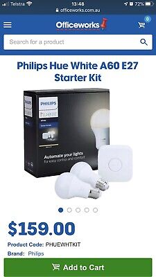 AU120 • Buy Phillips Hue Light Starter Kit