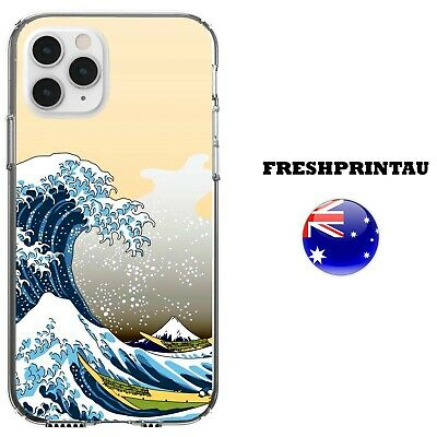 AU16.99 • Buy Silicone Case Cover Cool Art Ocean Waves Sea Abstract Colourful Tide Deep Anime