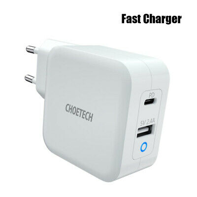 $65.95 • Buy Fast Charger With 65W PD  4.0 Dual Port Usb C For IPhone 11 Pro Mac High Quality