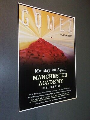£10 • Buy Manchester Concert Posters 2000-2013