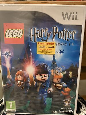 LEGO Harry Potter Years 1-4 Wii NEW Sealed • 7.70£