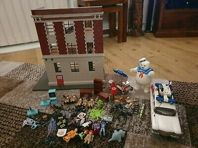 Ghostbusters Playmobil Bundle, HQ, Characters, Ecto 1 And Accessories • 39£