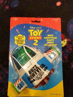 Toy Story 2 Buzz Lightyear Party Prize Spaceship New Sealed Package  • 9.04£