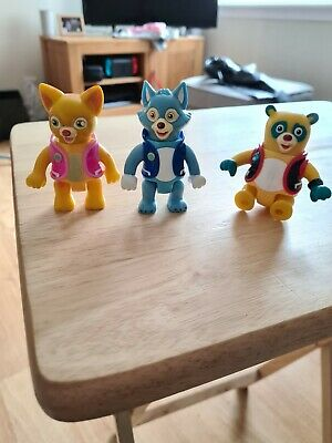 £15 • Buy Rare Disney Junior Special Agent OSO Figures OSO, Dotty & Wolfie
