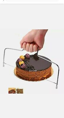 £2.65 • Buy Bread Cake Cutter Leveller Decorating Wire Slicer Baking Decor Tool