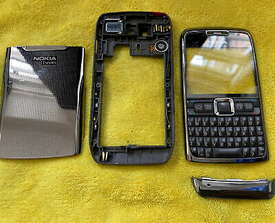 £5.99 • Buy Nokia E71  Front And Back Battery Cover Keypad As Seen Genuine Original As Seen