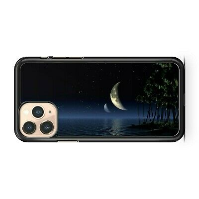 $ CDN17.51 • Buy Full Moon Ocean Water Reflect Tropical Extravagant Palm Trees Phone Case Cover