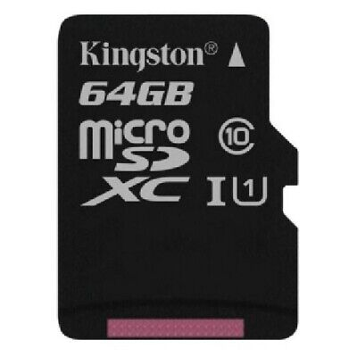$ CDN22.46 • Buy Carte Mémoire Kingston 64 GO Classe 10 + Adaptateur Pour NVIDIA SHIELD Tablet K1