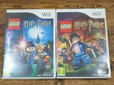 Nintendo Wii Lego Harry Potter Years 1-4 And 5-7 • 0.99£