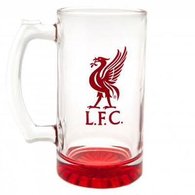 £15.99 • Buy Official LIVERPOOL FC Stein Glass Tankard LFC Gift
